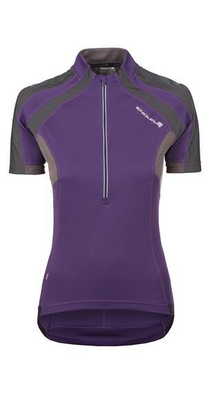 Endura Women's S/S Hummvee Jersey purple